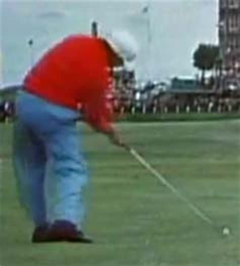 lee trevino swing left arm