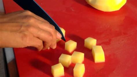 corte en parmentier solucion cocina tecnica de corte parmentier youtube