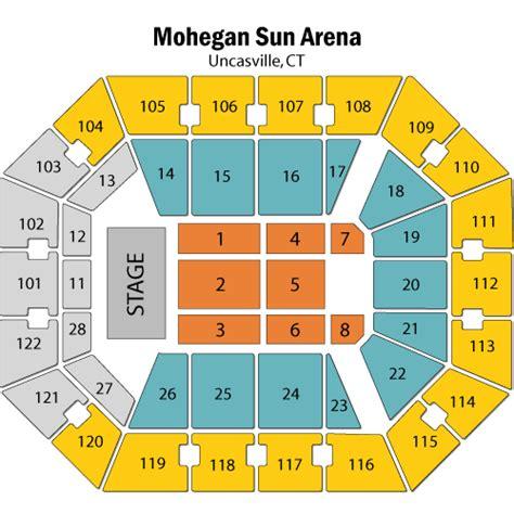 mohegan sun arena floor plan mohegan sun arena floor plan mohegan sun arena concert