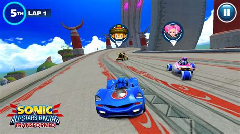 sonic racing transformed apk descargar sonic racing transformed andoid apk datos sd android 9000