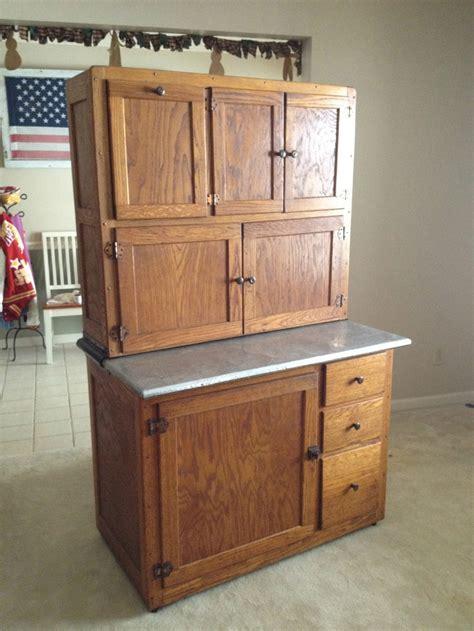 Permalink to Antique Kitchen Cupboard With Flour Bin