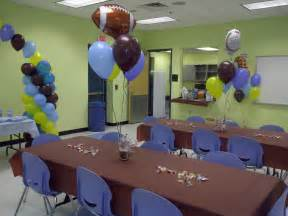 sports baby shower centerpieces balloon creations by velda it s a boy sports themed baby shower