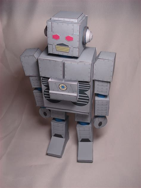 Papercraft Robots - beastie boys intergalactic robot papercraft by