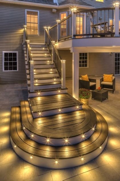 outdoor stair lighting ideas outdoor stairs lighting stairs design ideas