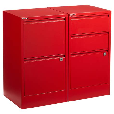 schrank rot bisley 174 2 3 drawer file cabinets the container store
