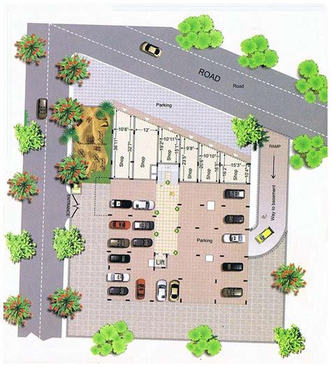 layout plan of naya raipur mansi heights raipur chhattisgarh india residential cum
