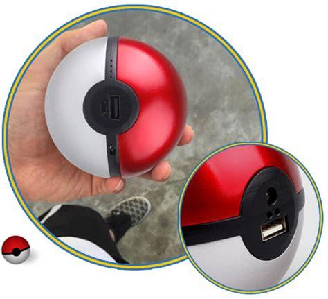 Powerbank Pokeball go pokeball powerbank for mobile and tablets 8000mah poke go 8k appliances direct