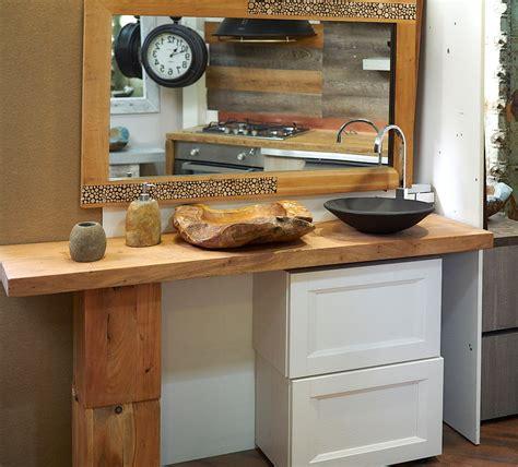 arredo bagno in legno nuovi mondi cucine arredo bagno consolle in legno massello
