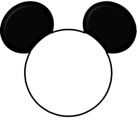 mickey mouse silhouette template mickey mouse ears silhouette cliparts co