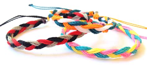 How To Make Handmade Bracelets With Threads - how to make handmade bracelets with threads 28 images