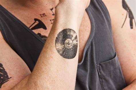vinyl record tattoo vintage albums