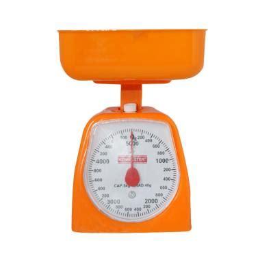 Timbangan Untuk Membuat Kue Jual Kenmaster Timbangan Kue 5 Kg Orange Harga