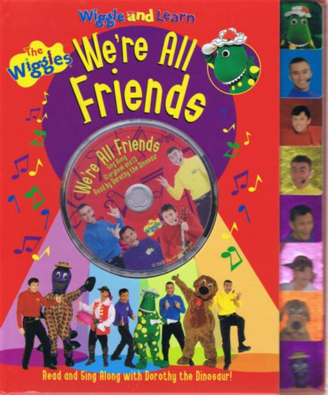 and all friends books we re all friends book wikiwiggles