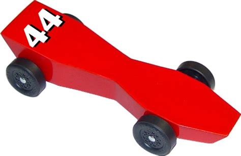 pinewood derby templates   fast car