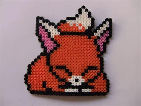 perler bead fox fox square board strijkkralen