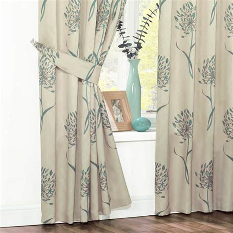teal curtain tie backs oriana floral faux silk curtain tie backs teal ebay