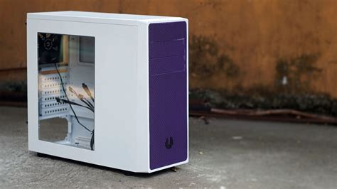Bitfenix Neos Window Whitepurple bitfenix neos mid tower review techporn