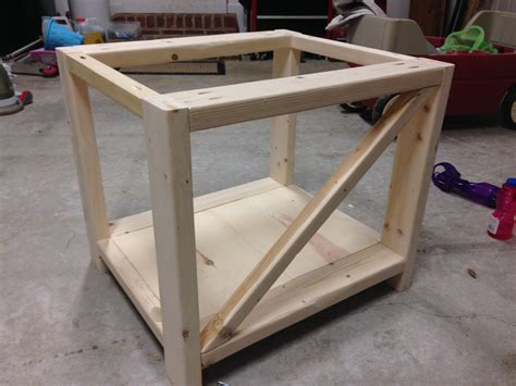 rustic x end table white rustic x end table diy projects