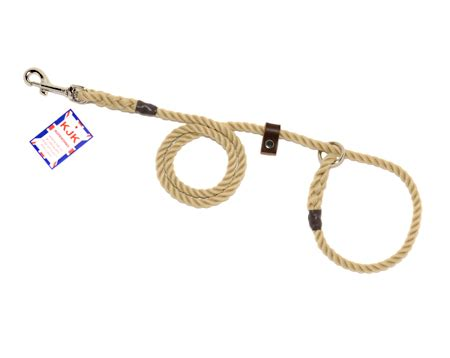 Morning Whistle Mini Slip kjk rope leads high quality rope and braided slip and clip leads whistle lanyards in