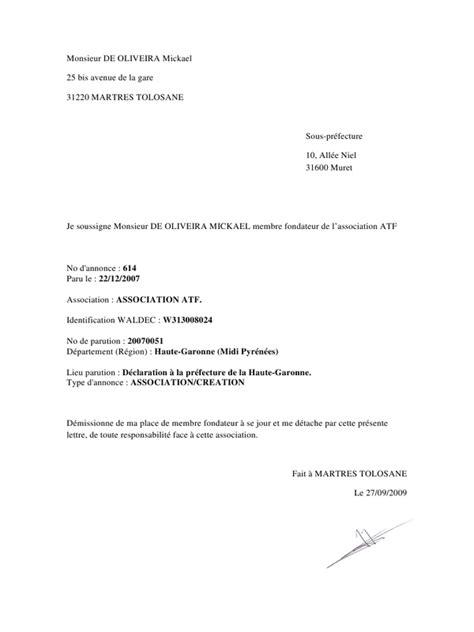 Modèle De Lettre De Démission En Pdf Monsieur De Oliveira Mickael Par De Oliveira Lettre De Demission Pdf Fichier Pdf