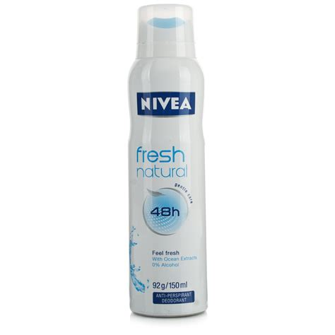 Nivea Deodorant nivea deodorant fresh spray toiletries 163 1 95 chemist