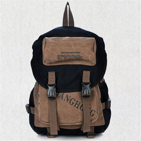 Letter Canvas Backpack buy letters print canvas backpack casual school