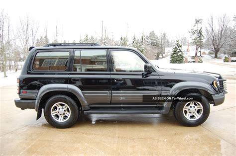 1996 land cruiser 1996 lexus lx450 land cruiser fzj80 lockers black tan pristine