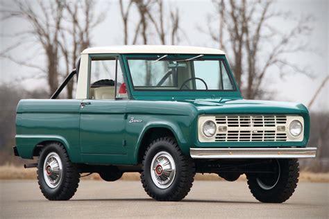 ford bronco half cab auction block 1967 ford bronco half cab hiconsumption