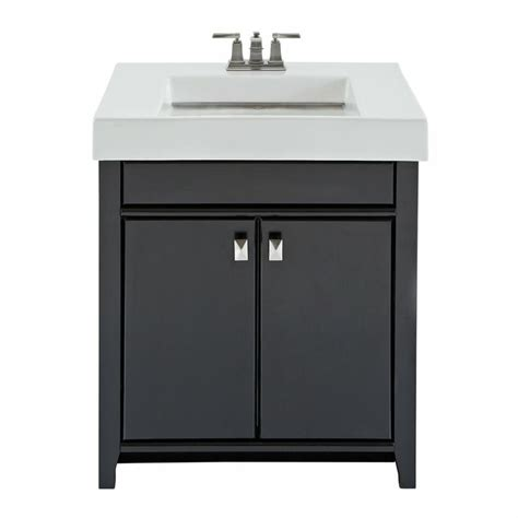 magick woods 48640 30 in black clareview single sink