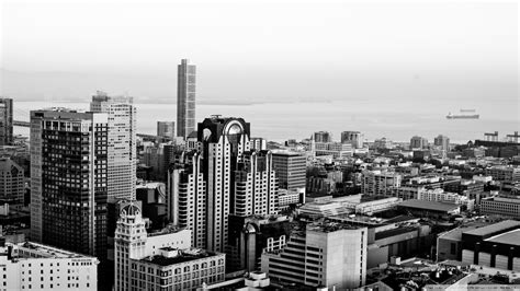 cityscape wallpaper in black and white by lutece black and white cityscape wallpaper pictures to pin on