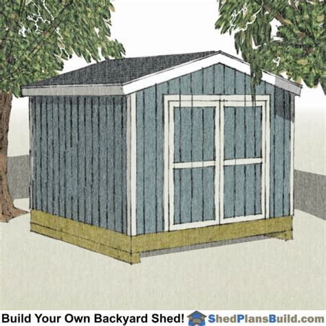 How To Build A 10x12 Shed by 10x12 Shed Plans