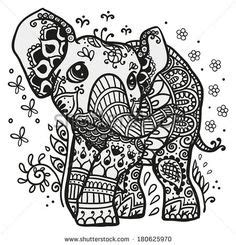 stress relief coloring pages elephant 1000 images about stress relief on pinterest coloring