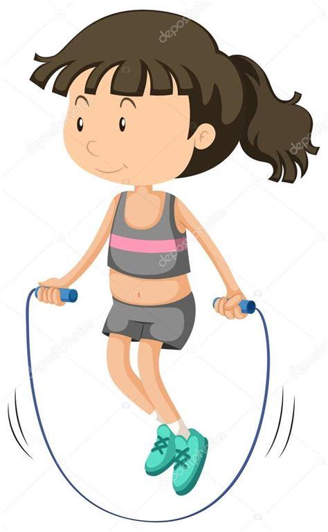 imagenes niños saltando la cuerda ni 241 a saltando la cuerda vector de stock 169 blueringmedia