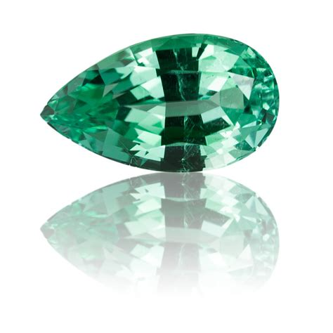 afghan mint green tourmaline 3 64ct king gems
