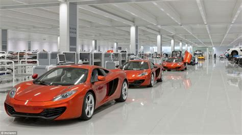 mclaren f1 factory mclaren s 50th birthday inside futuristic formula one