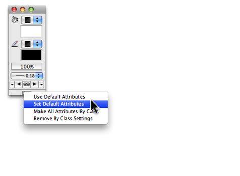 default setter semantic attribute jonathan pickup setting attribute defaults in vectorworks