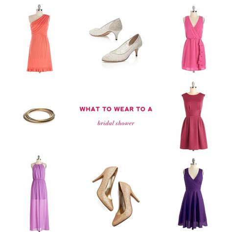 what to wear to a bridal shower chagne brunch edition