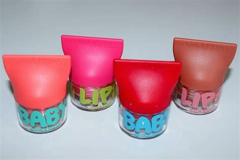 Novo Lip Balm Baby Colors maybelline baby blush and balm review swatches really ree
