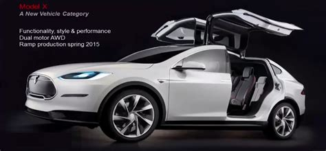 tesla model x to be fastest suv in the world photos 1 of 3