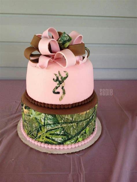 pink camo browning   wedding cake camo pinterest birthday cakes  love  wedding