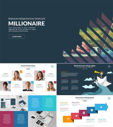 18 Professional Powerpoint Templates For Better Business Presentations Template For Powerpoint Presentation