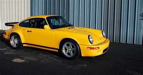 Porsche Yellow Bird by This Is What It S Like To Own A Ruf Yellowbird Petrolicious