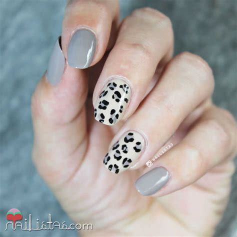 imagenes de uñas animal print 2015 u 241 as de animal print leopardo paso a paso nailistas