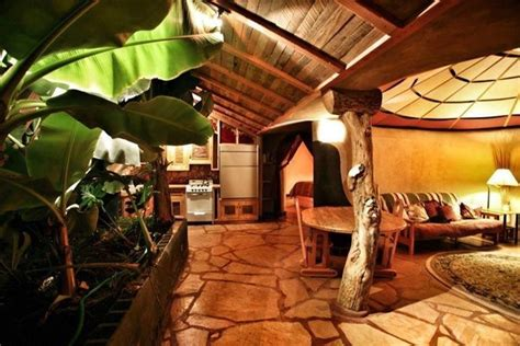 Earthship Interior by Earthship Inside Living Room Kitchen House