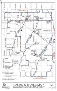 arizona canal map gilbert and chandler trail systems provide recreational