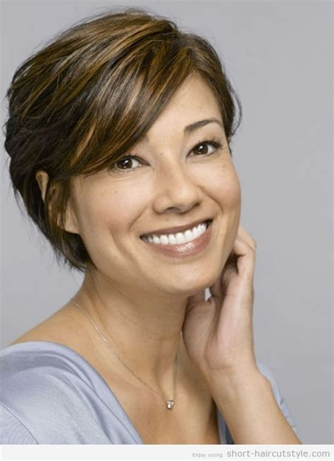hairstyles for women 35 to 40 short choppy layered haircuts for women over 40
