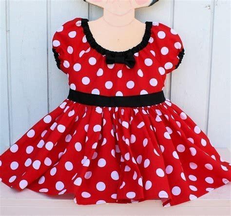 Dress Minie minnie mouse dress polka dots dress minnie mouse