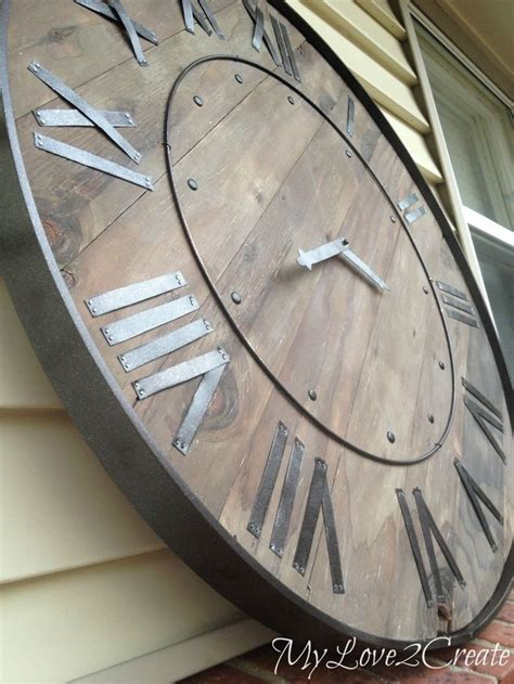 best 20 wooden clock ideas on pinterest wood clocks 17 best images about diy wood craft projects on pinterest