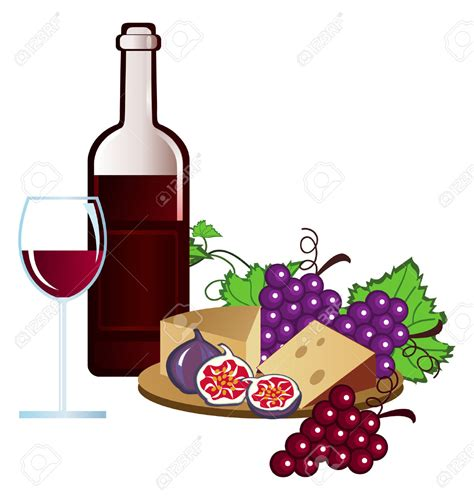 wine clipart wine party clipart