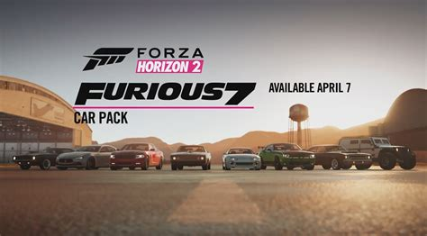 fast and furious xbox one fast furious 7 car pack now live for forza horizon 2 on